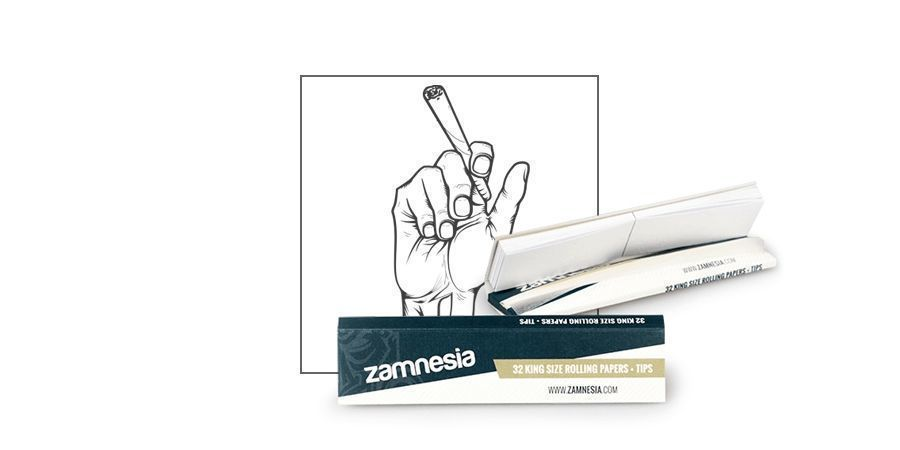 Zamnesia Blättchen King Size + Tips