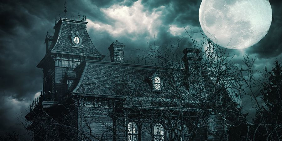 Visit A Haunted House While Being High