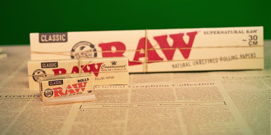 Raw Connoisseur King Size Blättchen + Fertige Tips