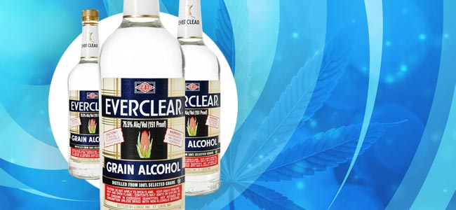 Cannabis Tinctures Everclear