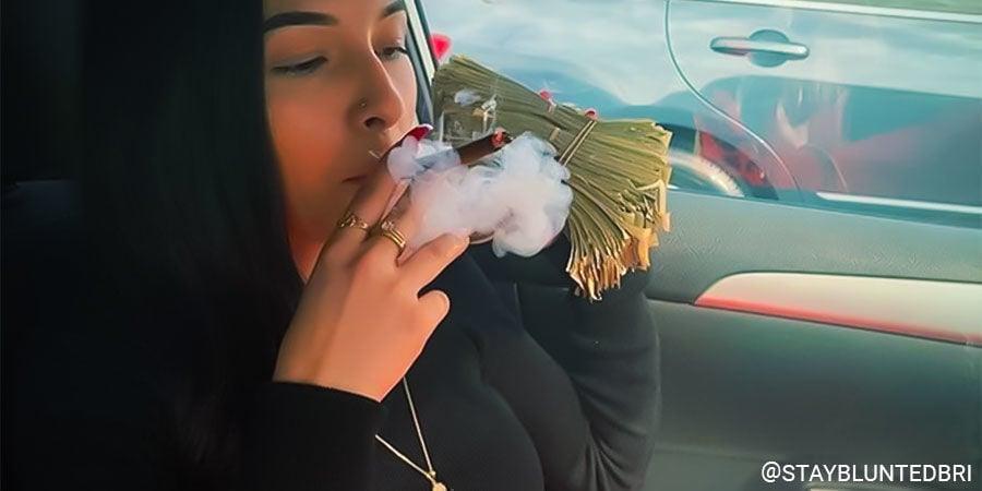 Top Female Cannabis Influencers On Instagram: @staybluntbri