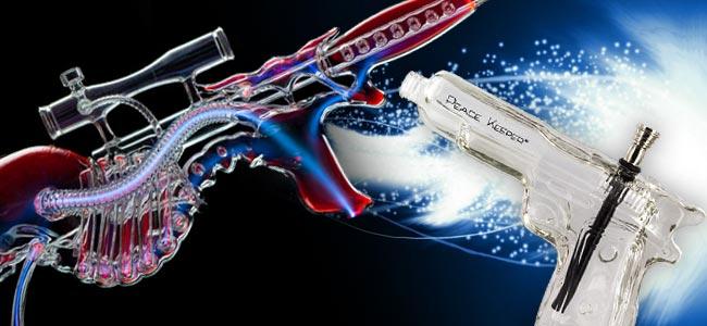 ROOR Skull Gun & The Glass Peace Keeper