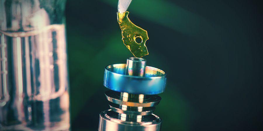 Medizinische Cannabiskonzentrate Dabben