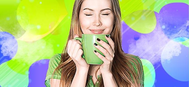 DRINKING KANNA TEA