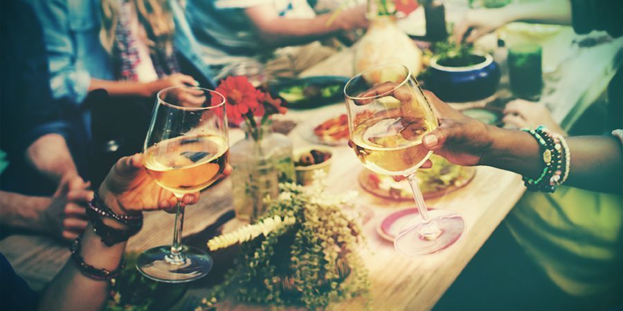 Attend a food and wine festival