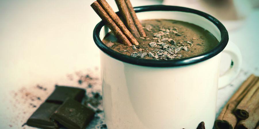 Rezept für mit Cannabis angereicherte heiße Schokolade