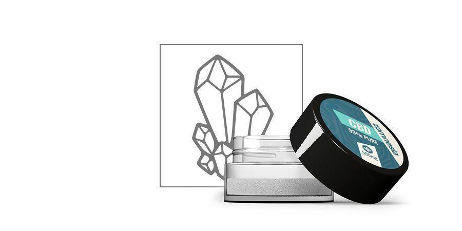 CBD Crystals 99% Pure (Zamnesia)