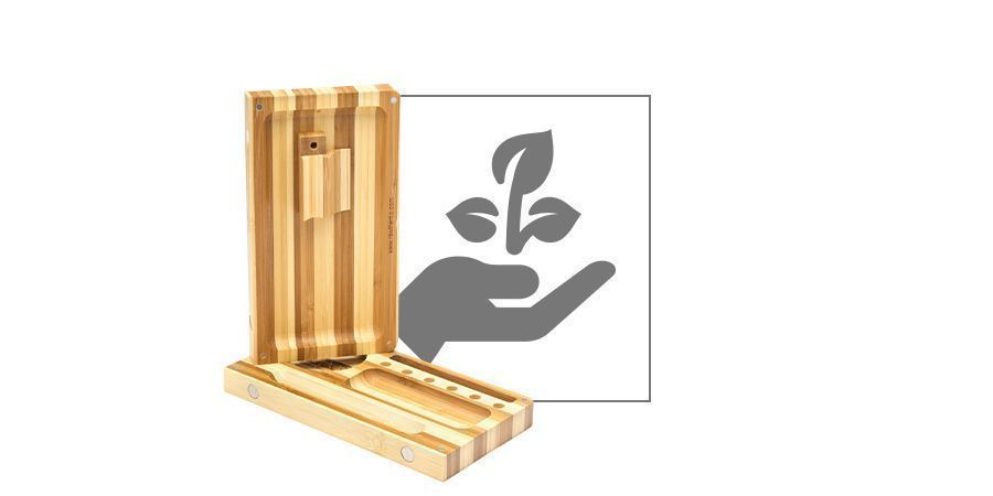 RAW Bambus Aufklappunterlage