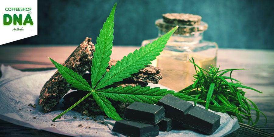 Coffeeshop DNA Amsterdam - Cannabis Edibles