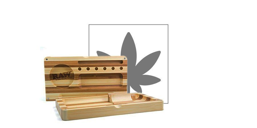 RAW Bamboo Backflip Tray (3 parts)