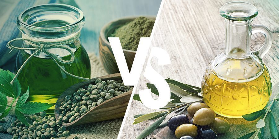 CBD HEMP SEED OIL VS OLIVE OIL