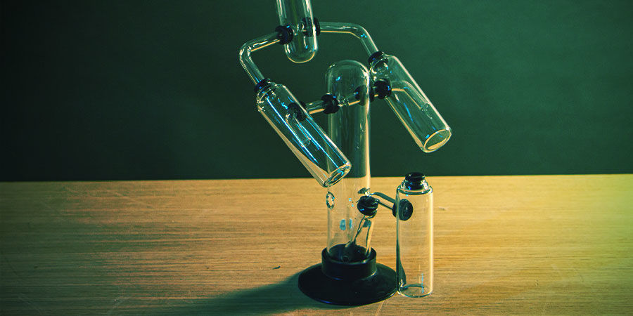 Multi-Chamber Cannabis Bong