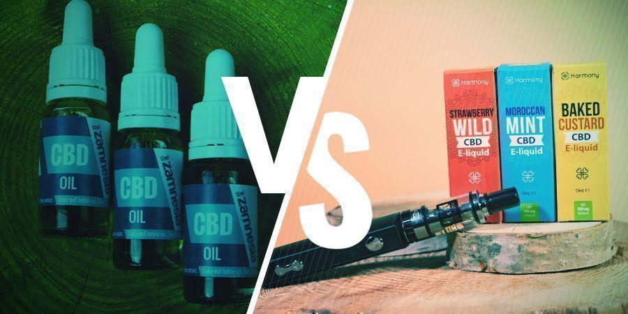 Is CBD Oil The Same Thing As CBD E-liquid?