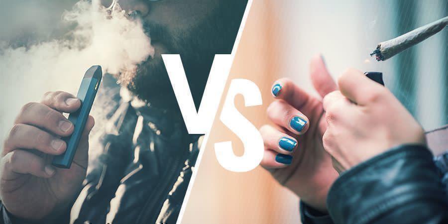Vape High vs. Smoke High