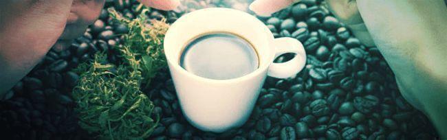 Tun Während High: Kaffee