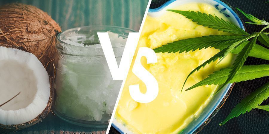 CANNABIS COCONUT OIL VS CANNABUTTER