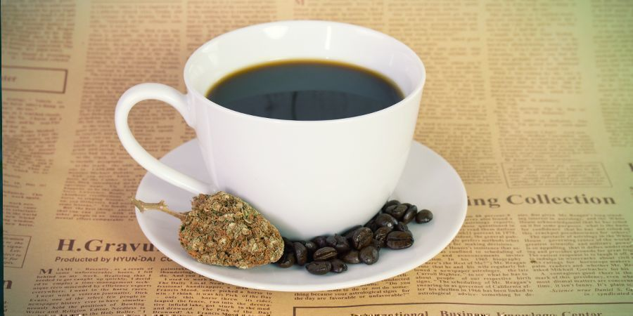 WHAT HAPPENS WHEN YOU MIX CANNABIS AND CAFFEINE?