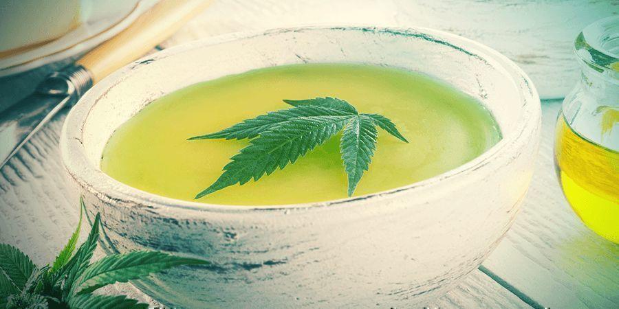 Mach Cannabis Butter daraus