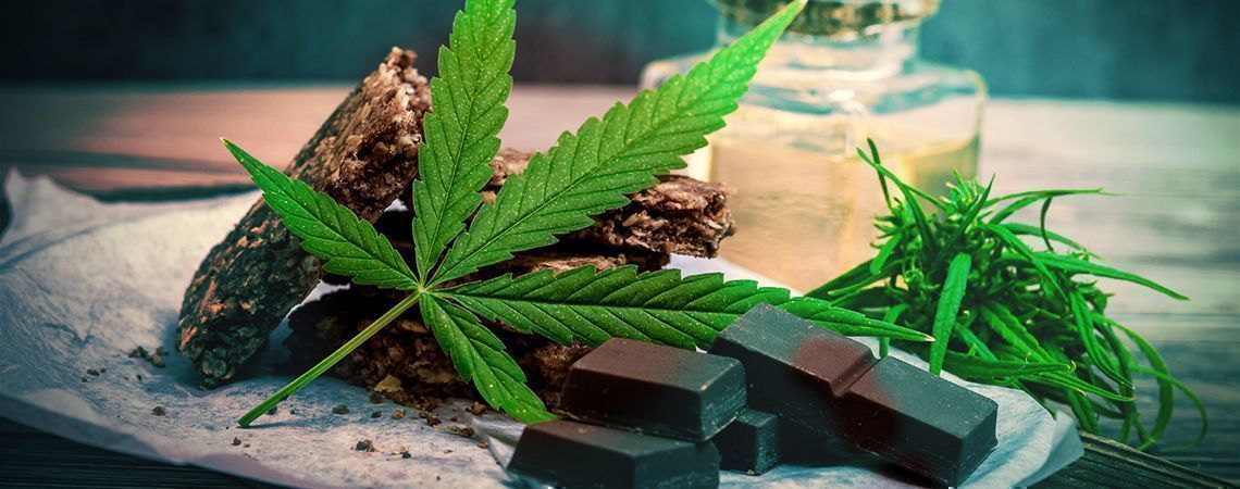Cannabisschokolade