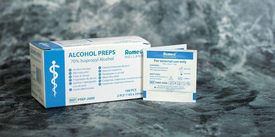 70%-ALKOHOL-REINIGUNGSTÜCHER