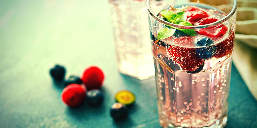 Bong Water Alternatives: Flavoured Water