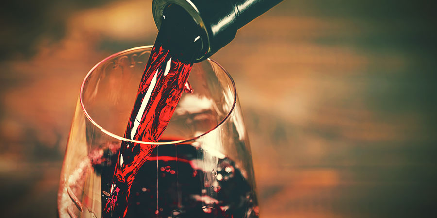 Bong Water Alternatives: Red Wine