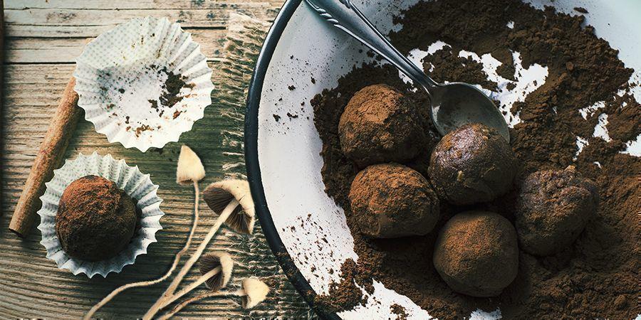Xoconacatl: Magic Mushroom Energy Balls