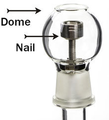 Nail and dome