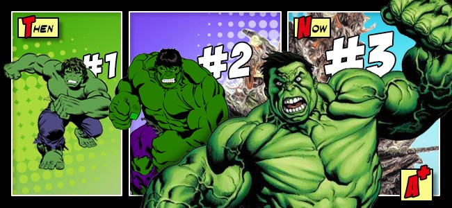 The Different Types Of Bruce Banner