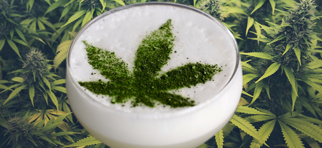 Weedstem cocktail