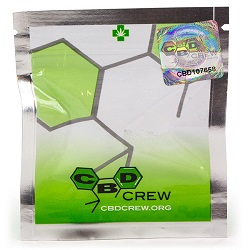 CBD Crew packaging