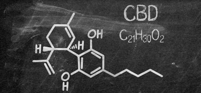 Molekulare Struktur CBD