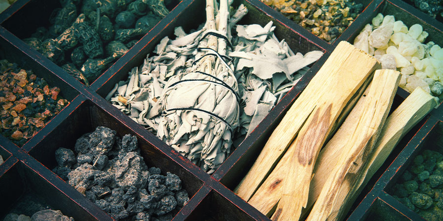 Different types of incense