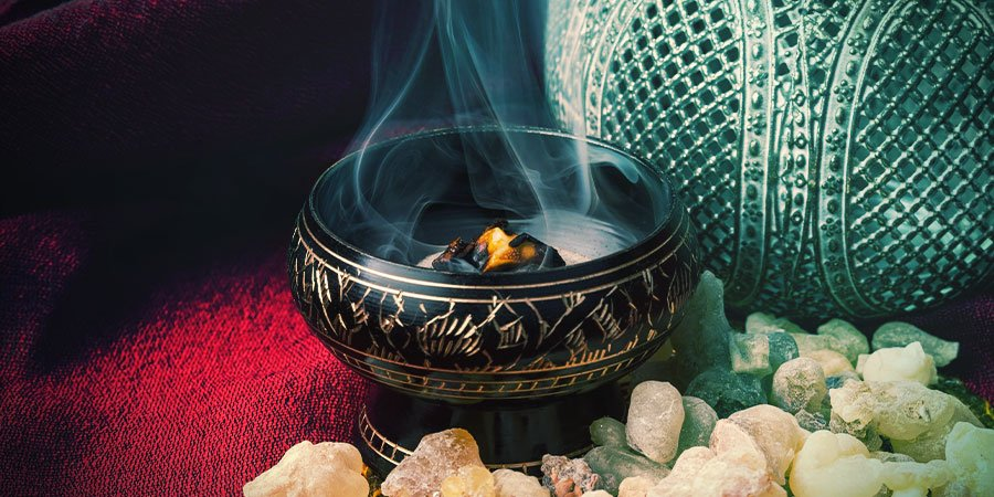 Direct burning & indirect burning incense