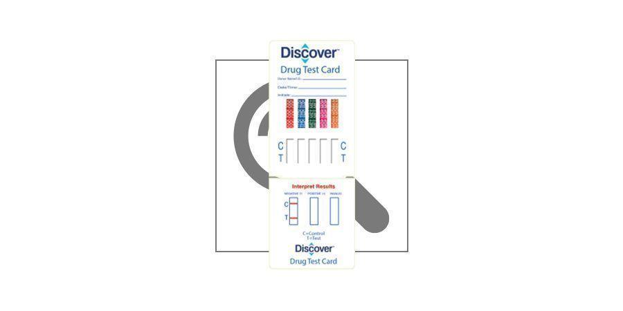 5-Panel Drug Test Card