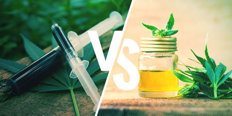 The Difference Between CBD Oil And Rick Simpson Oil - Zamnesia