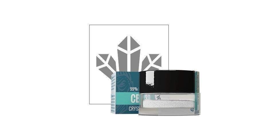 CBD-Kristalle 99% Reine (Zamnesia)