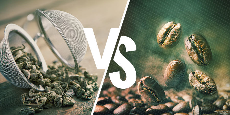GUNPOWDER TEA VS COFFEE