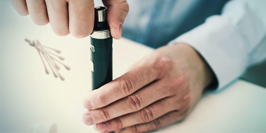 Wartungsmaßnahmen Beim Gebrauch Eines Vape Pens