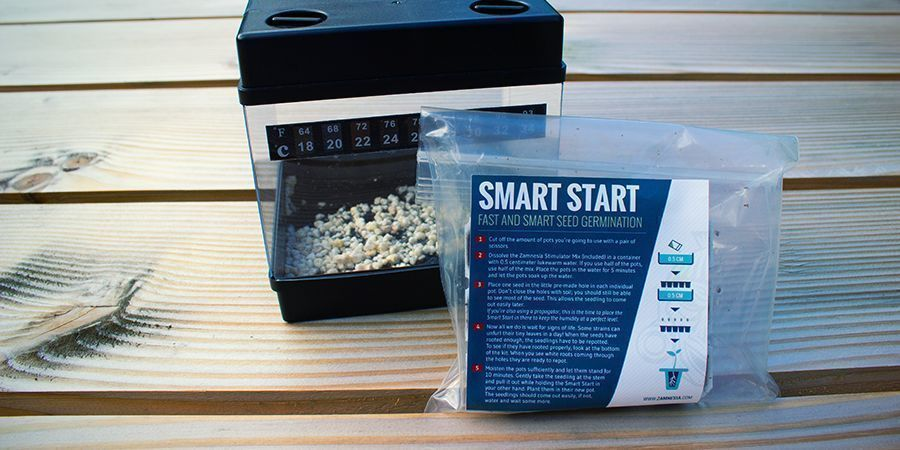 USE GERMINATION KITS TO GIVE YOUR SEEDS A HEAD START