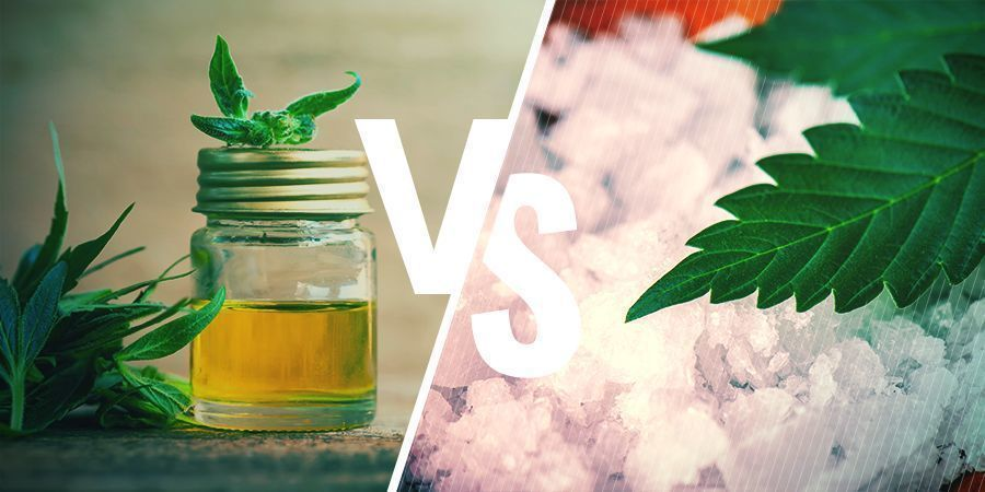 FULL SPECTRUM CBD OIL VS ISOLATE