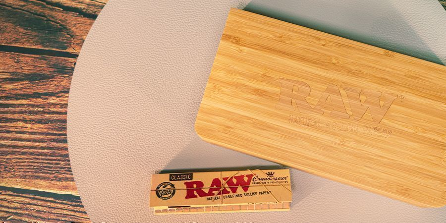 Wooden Rolling Trays And Boxes
