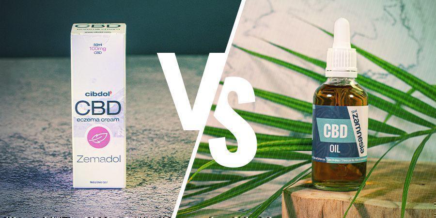 Warum CBD-Kosmetika statt reines CBD-Öl verwenden??