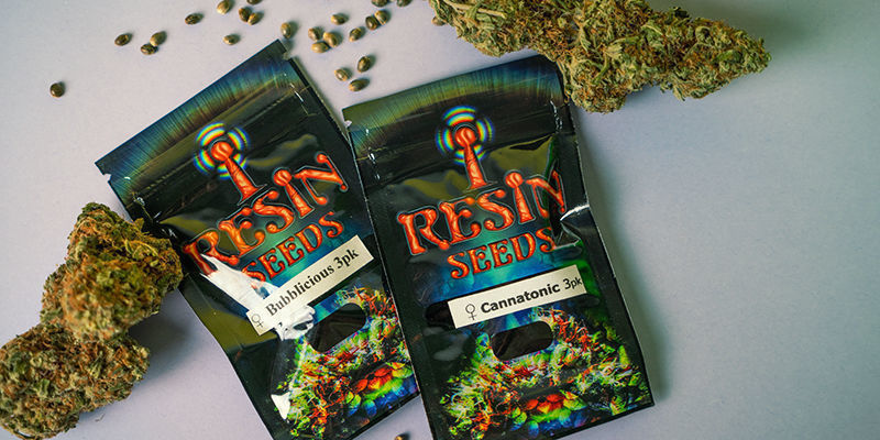 Resin Seeds Packaging