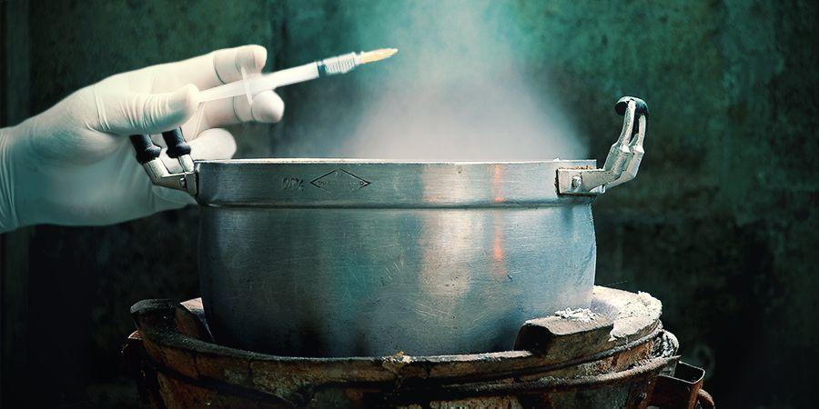 Sterilising The Syringe