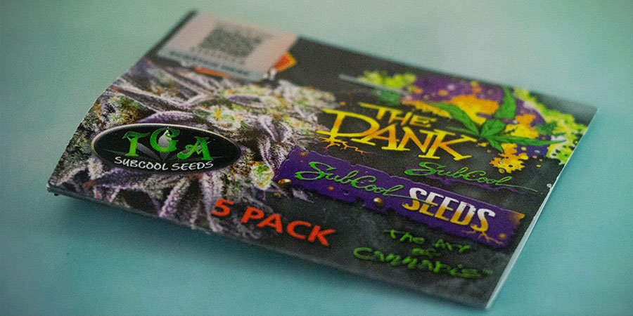 Packaging Of The Dank Seeds