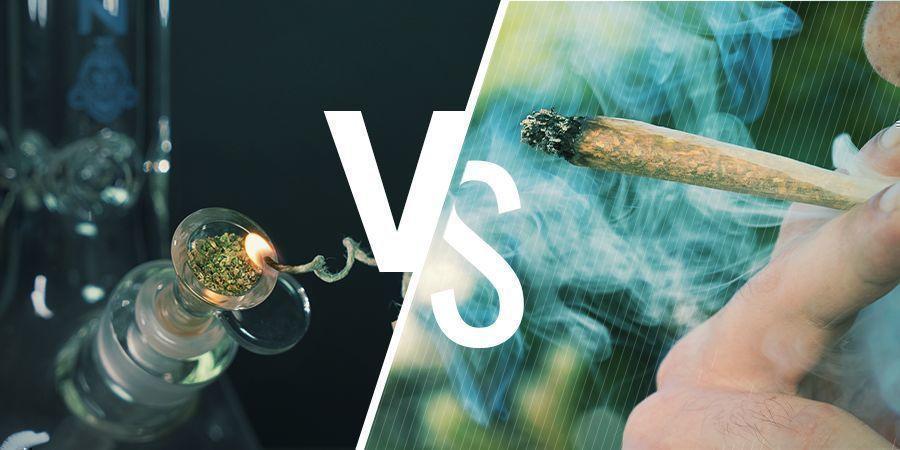 Bongs vs Joints