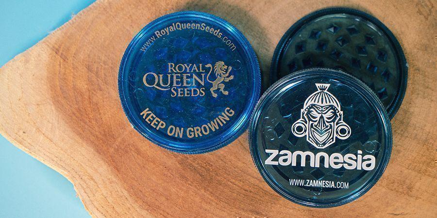 Acrylic weed grinders