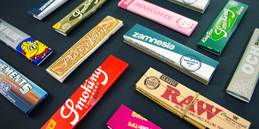Rolling Papers Come In All Shapes And Sizes