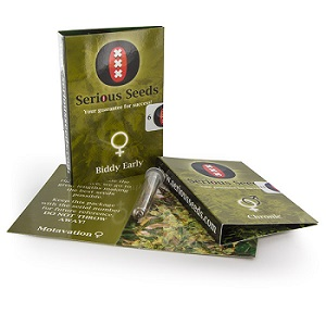 Packaging della Serious Seeds